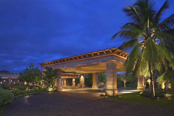 The Leela - Goa - Entrance