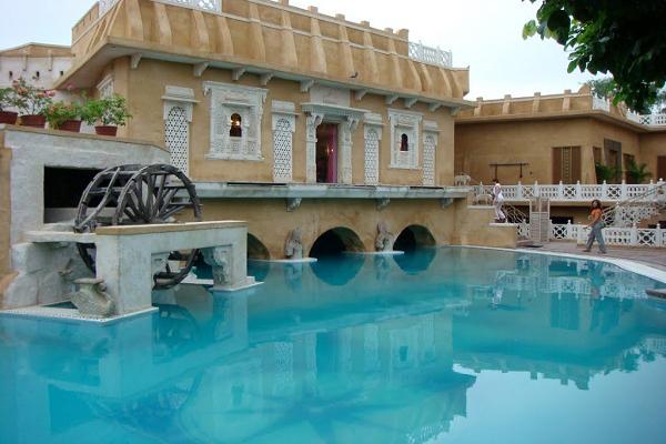 Ajit Bhavan - Poolside View 1