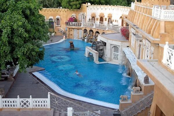Ajit Bhavan - Poolside View 2