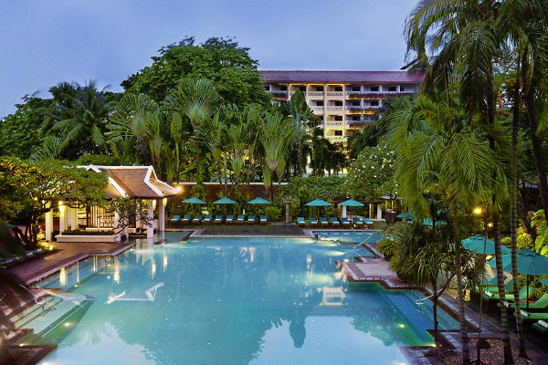 Anantara Bangkok Riverside Resort Spa -Poolside View 2