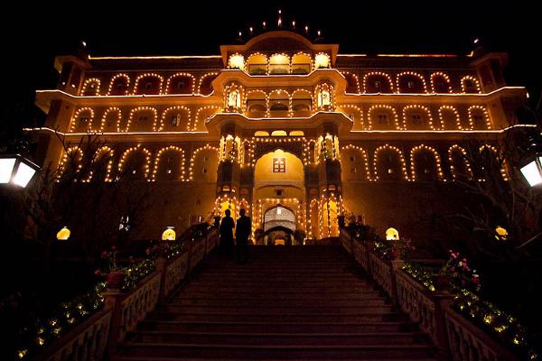 Samode Palace - Exterior 4
