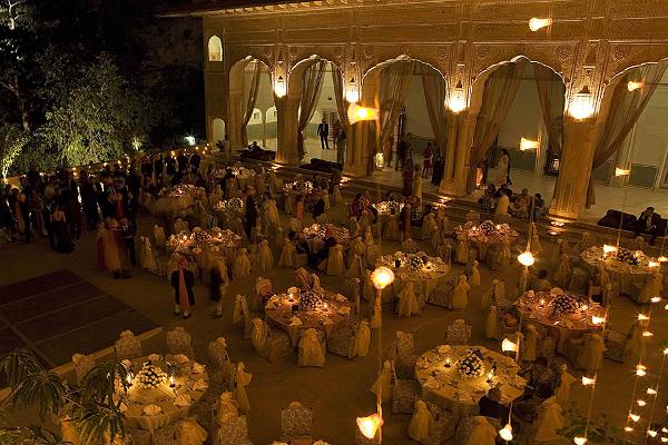 Samode Palace - Party